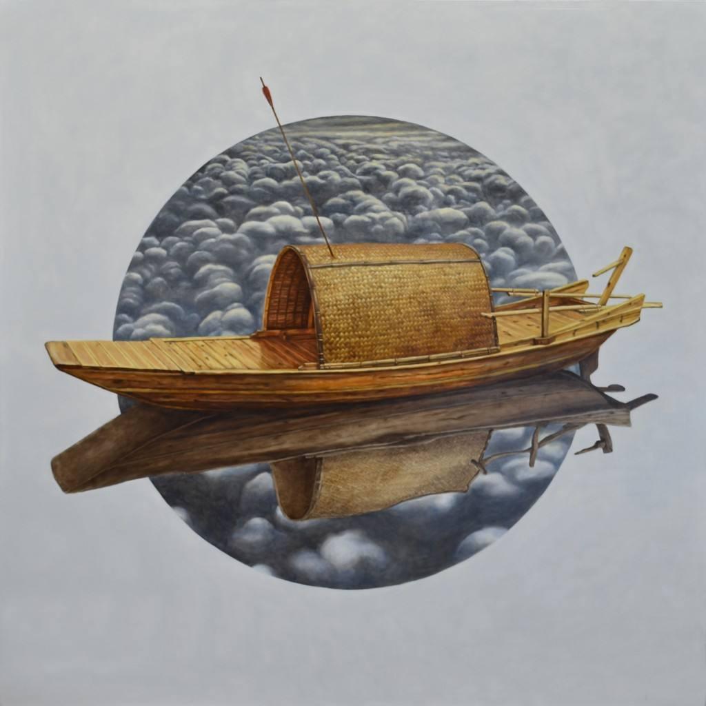 大雾掩护下的草船借箭